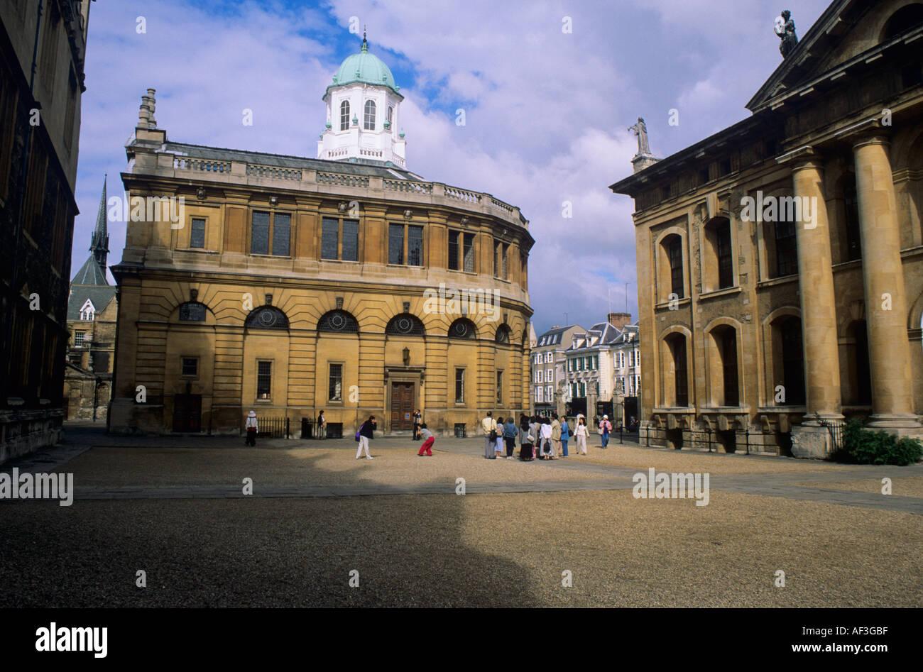 Sheldonian Theatre Oxford University Oxford England Stock Photo