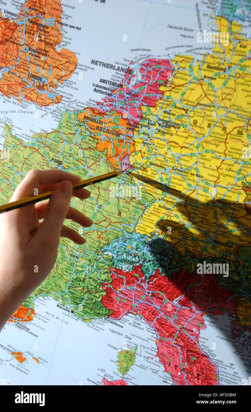 Andorra Map Stock Photos Andorra Map Stock Images Alamy