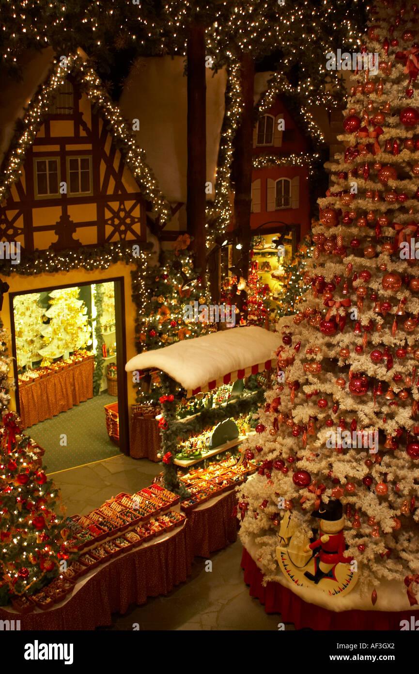 Christmas Village In Germany.Rothenburg Ob Der Tauber Germany Christmas Museum Village