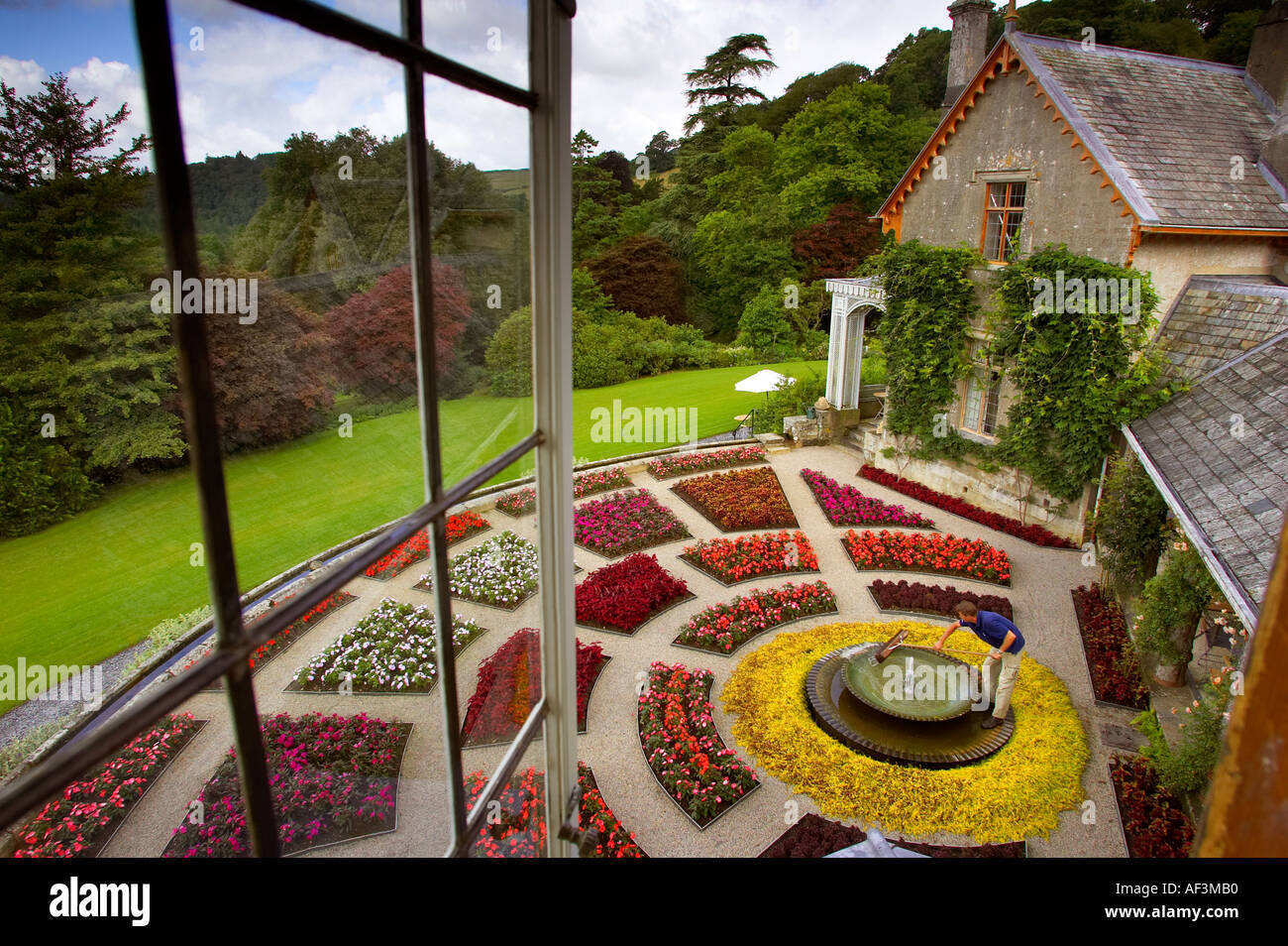Hotel Endsleigh Milton Abbot Devon UK, owned by designer Olga Polizzi and run by her daughter Alex. - Stock Image