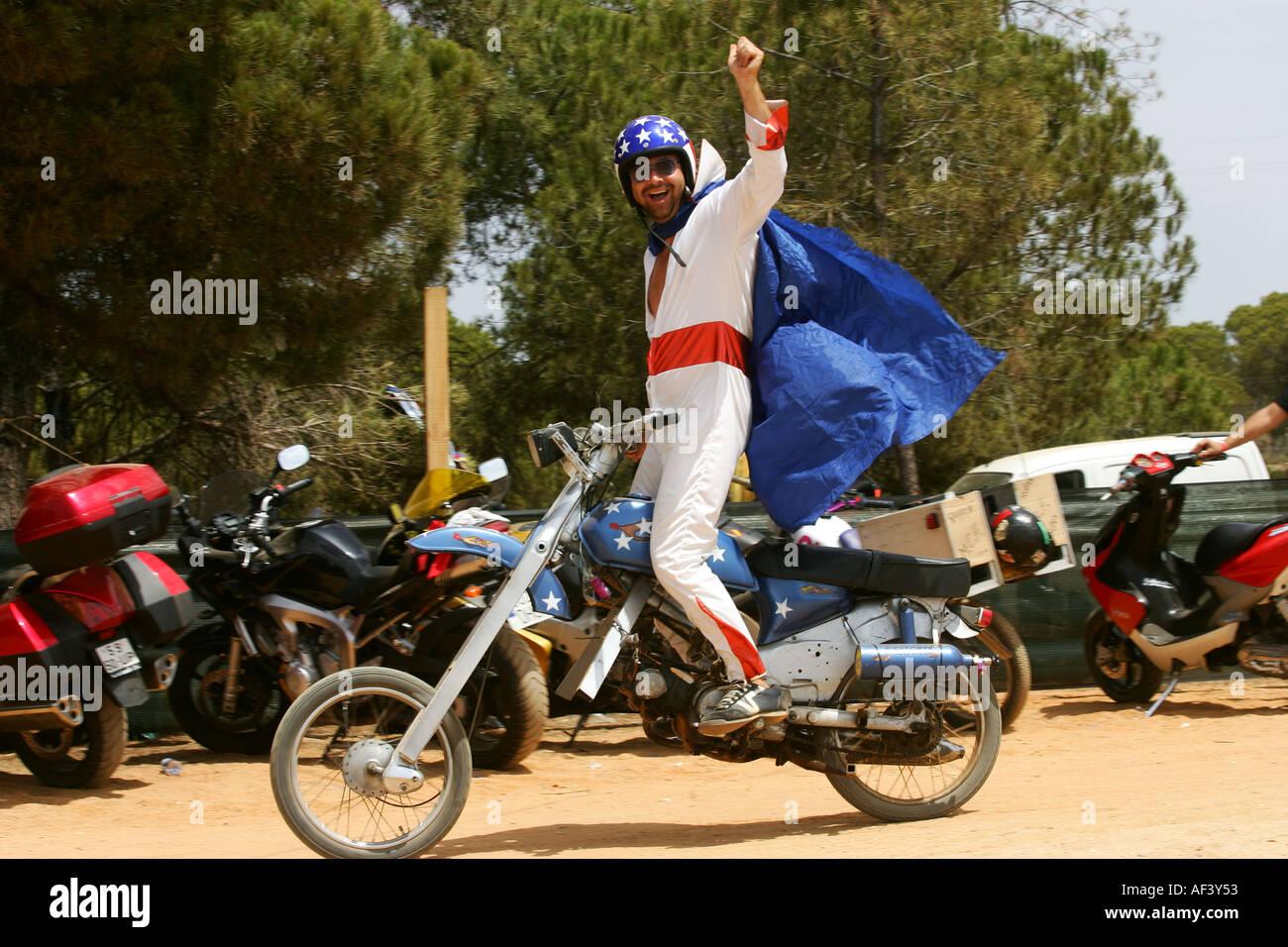 Faro Moto festival - Stock Image