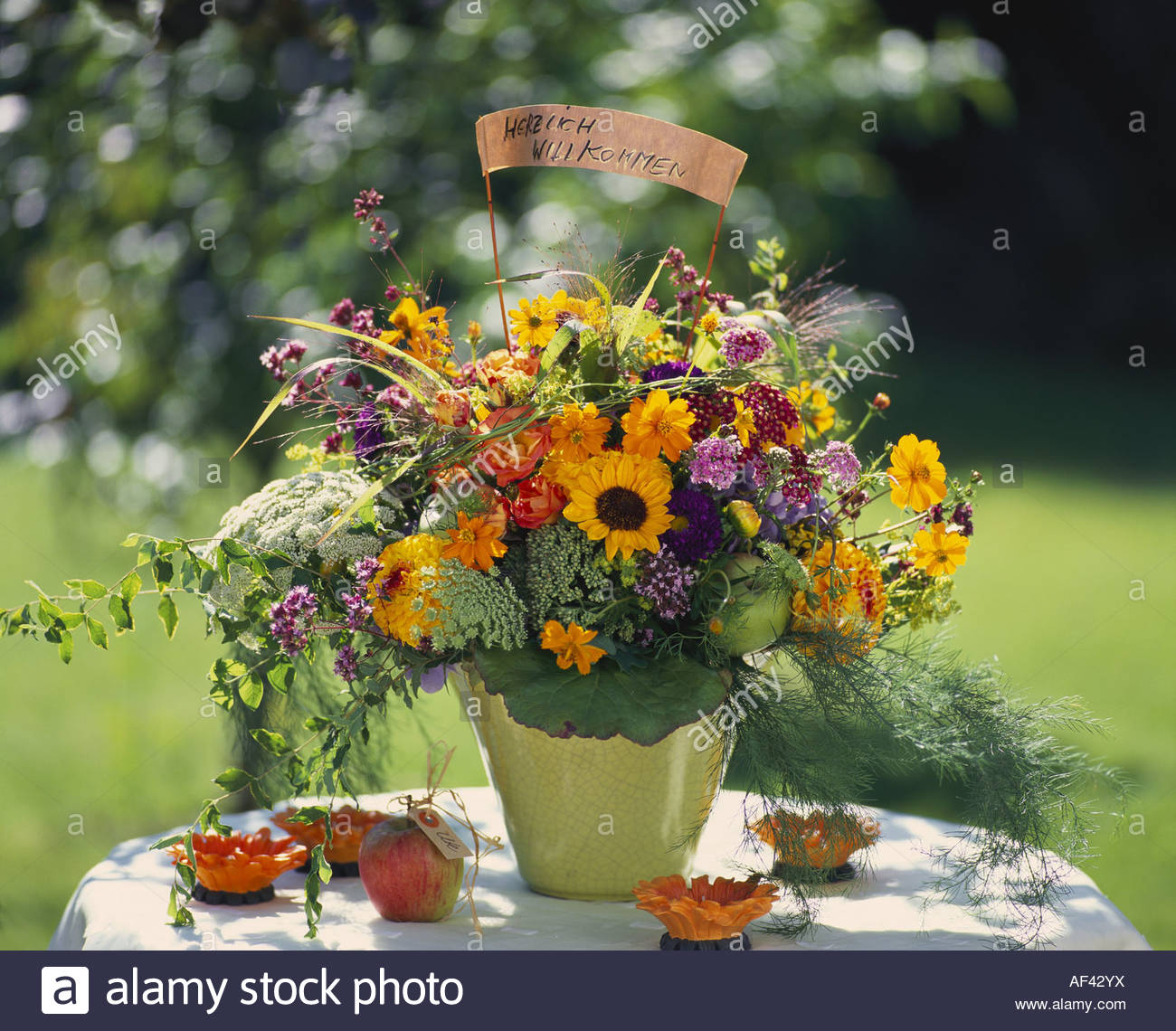 Welcome Bouquet Stock Photos Welcome Bouquet Stock Images Alamy