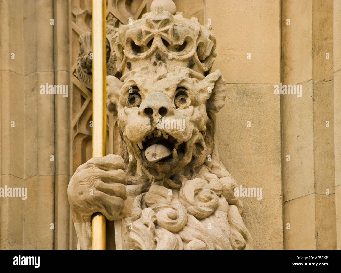 Detail From the Houses of Parliament,London. - Stock Image