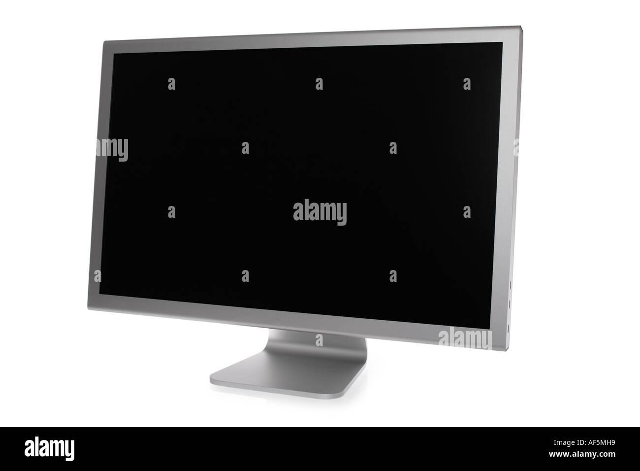 Cinema display computer monitor - Stock Image