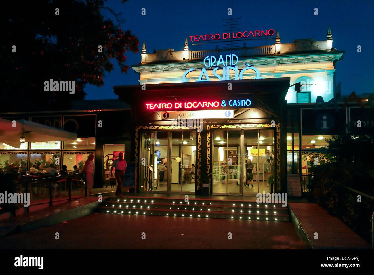 Switzerland Ticino Locarno Teatro di Locarno Casino - Stock Image