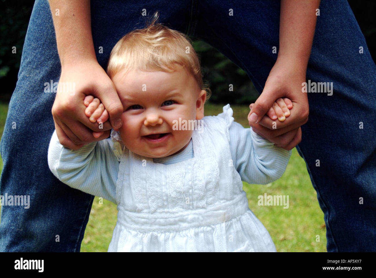 First Steps - Stock Image