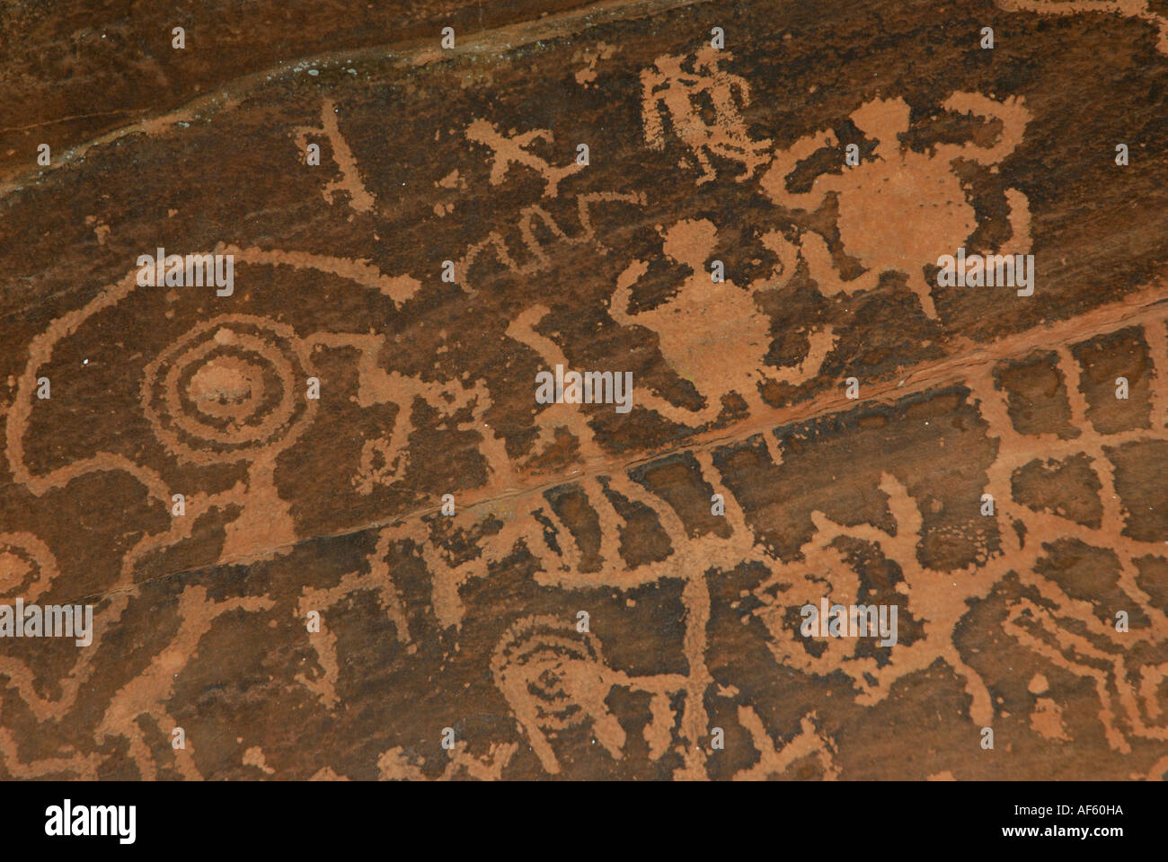Native American Petroglyphs Of People Turtle Pairs And Spiritual