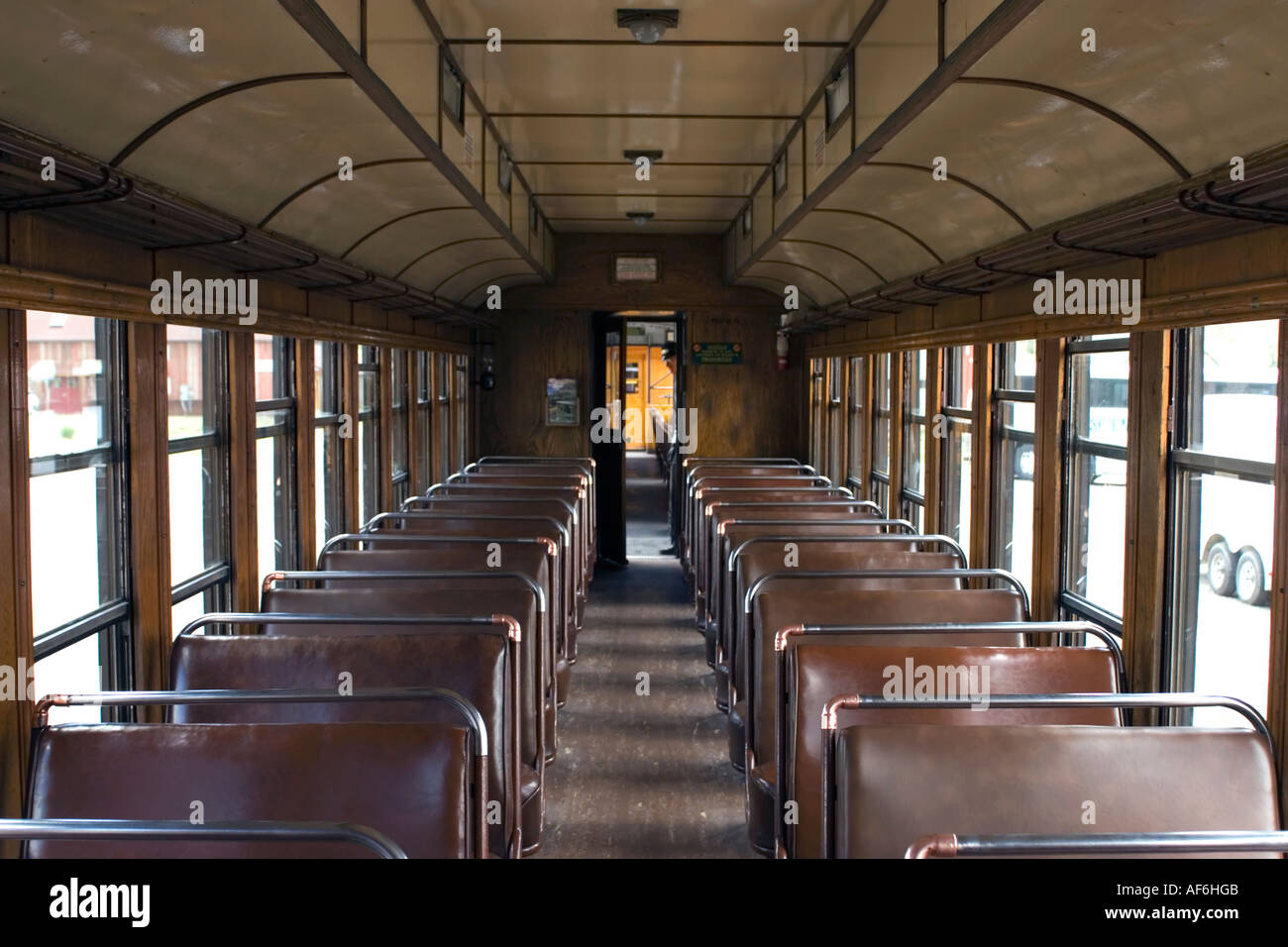 Railroad Passenger Car Inside Old Stock Photos & Railroad ...