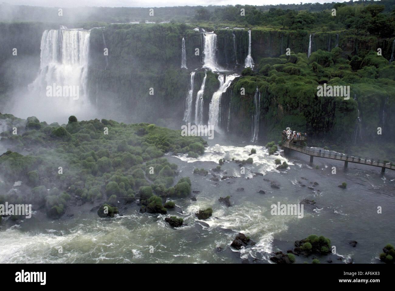 Geography Travel Brazil Landscapes Water Falls Iguazu River