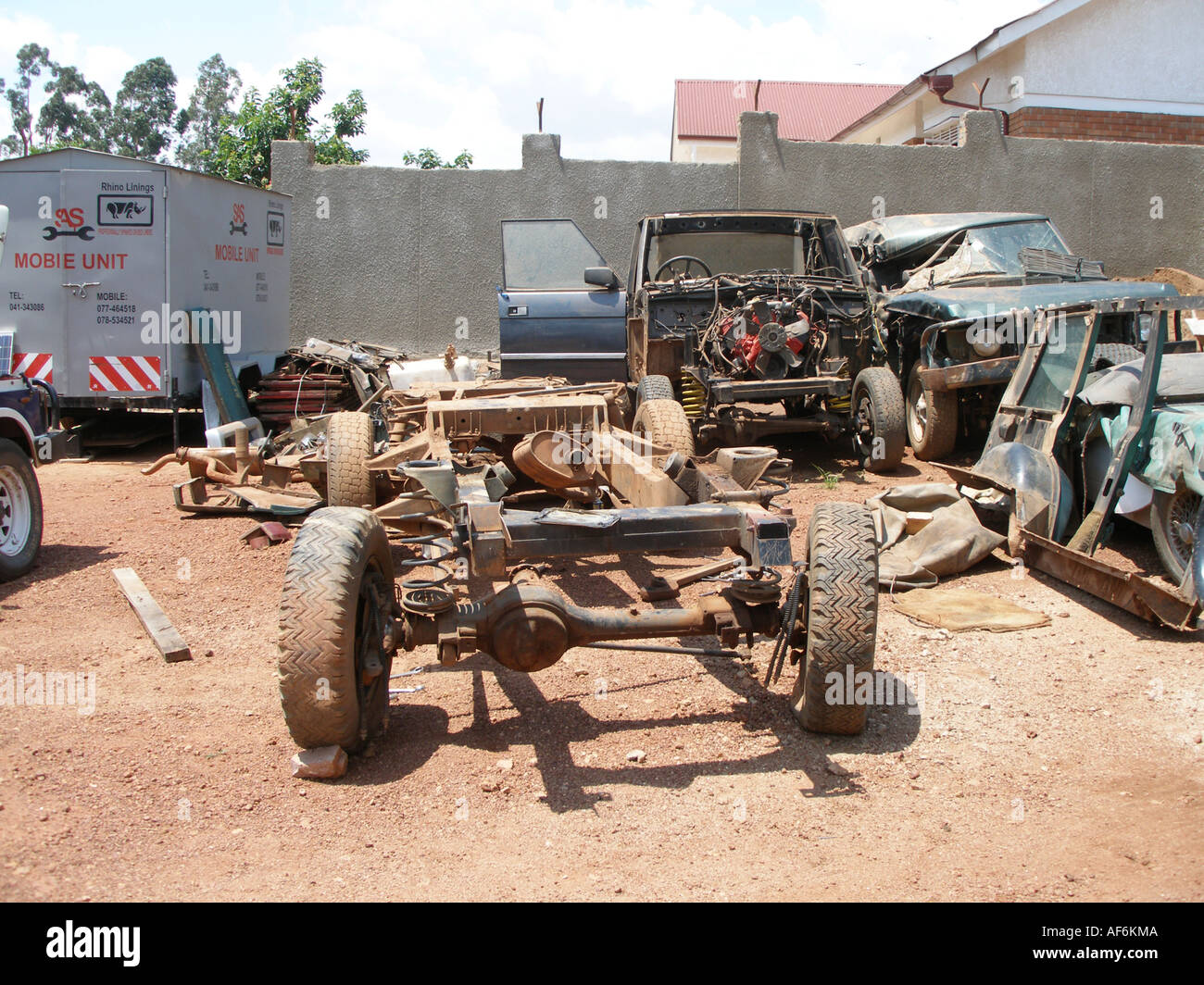 Land Rover Chassis Stock Photos Amp Land Rover Chassis Stock
