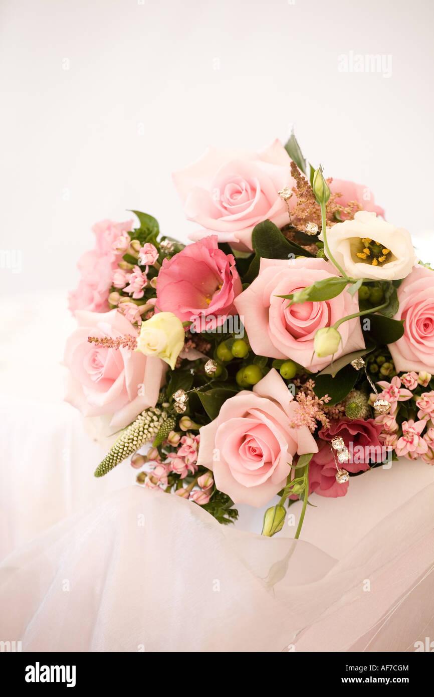 Wedding Bouquet - Stock Image