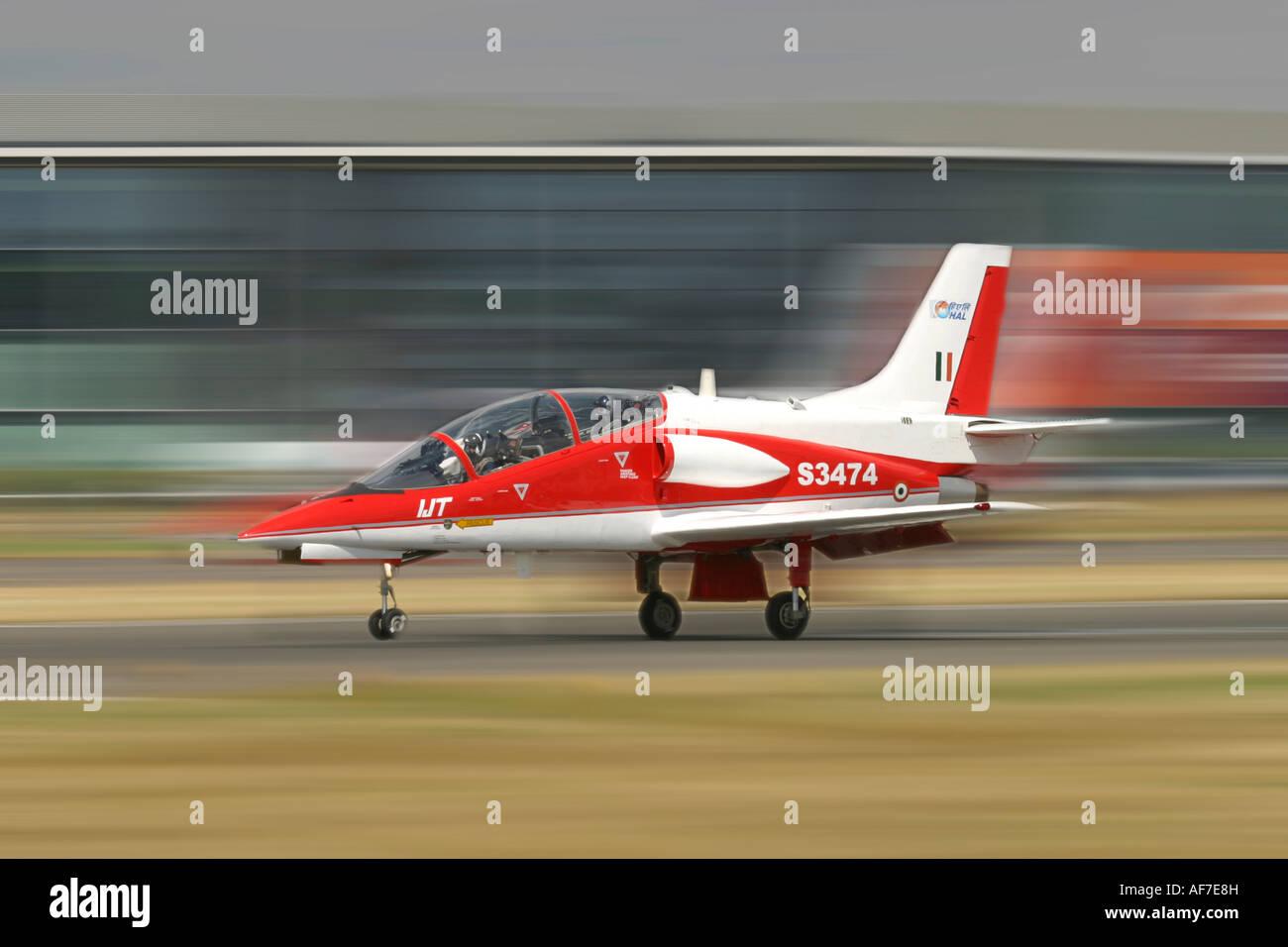 India Air Force Hindustan (HAL) HJT-36 Sitara - Stock Image