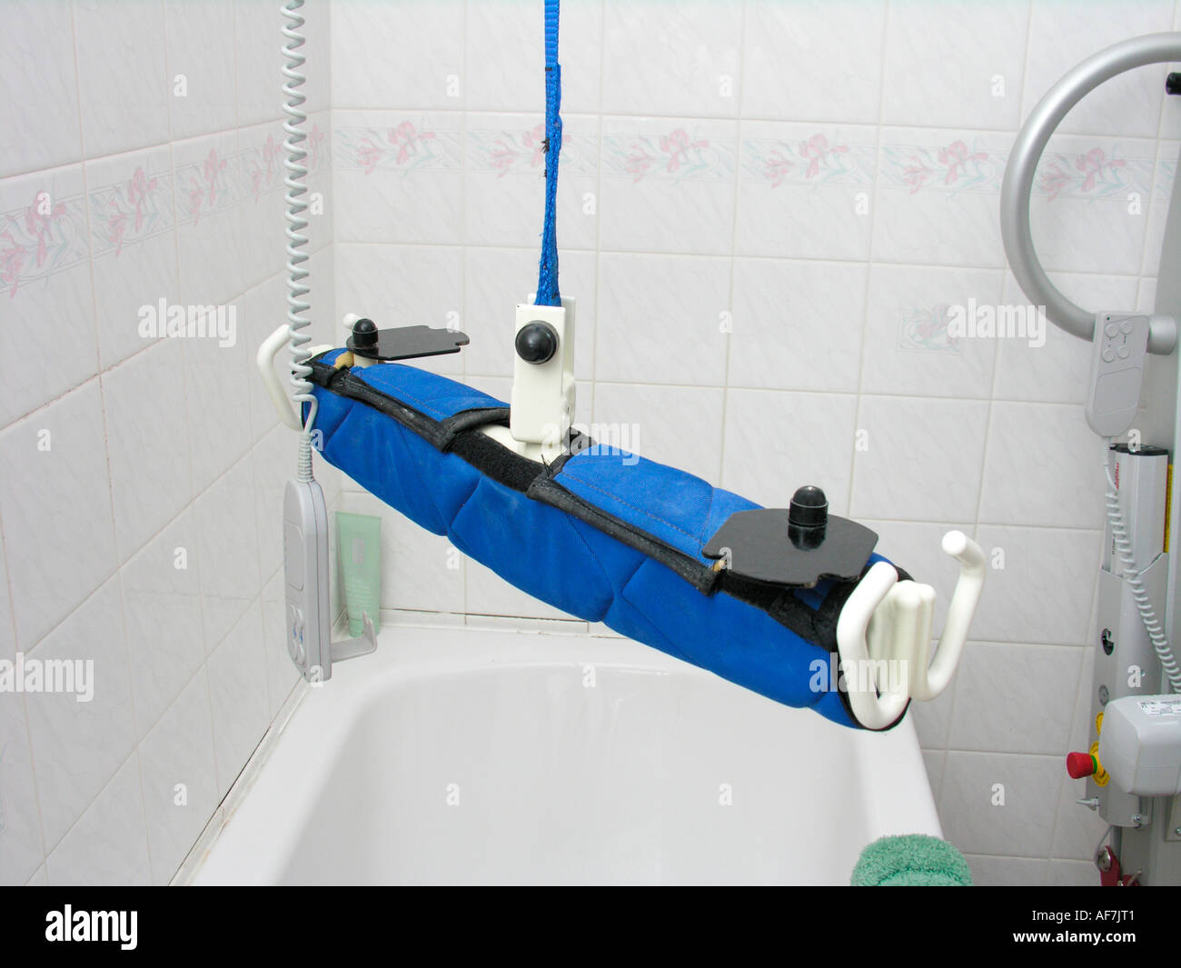 Windsor Ceiling Hoist Disability Equipment In The Bathroom For A Patient Or Disabled  Person