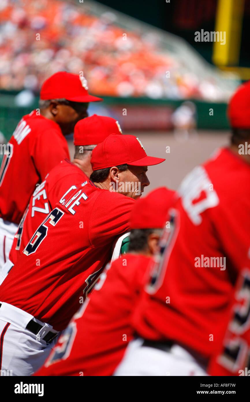 Washington Nationals Baseball, RFK Stadium, Washington DC, United States, USA - Stock Image