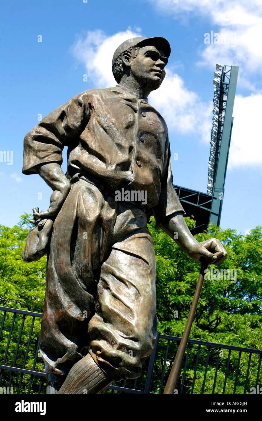 Babe Ruth, Camden Yards, Baltimore, Maryland, United States Stock Photo