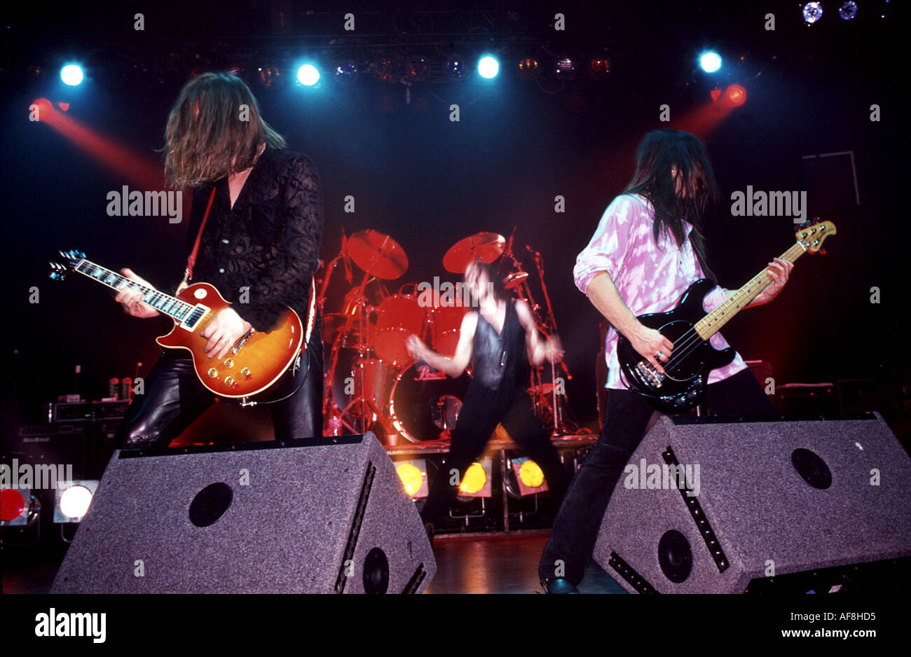 THUNDER UK rock band - Stock Image