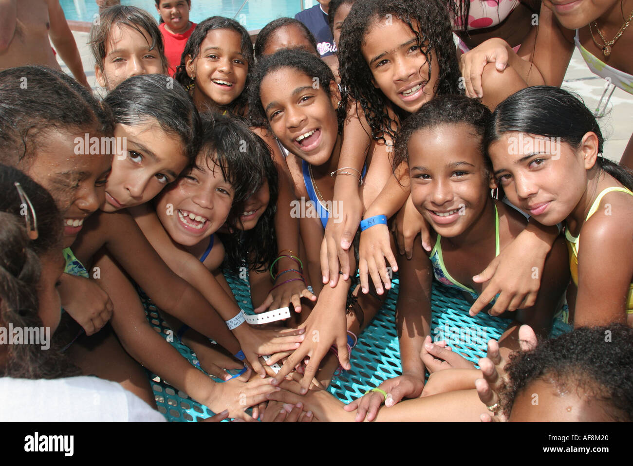 Miami Florida Hadley Park Miami Dade County Parks Summer Camp Program Stock Photo 4527135 Alamy