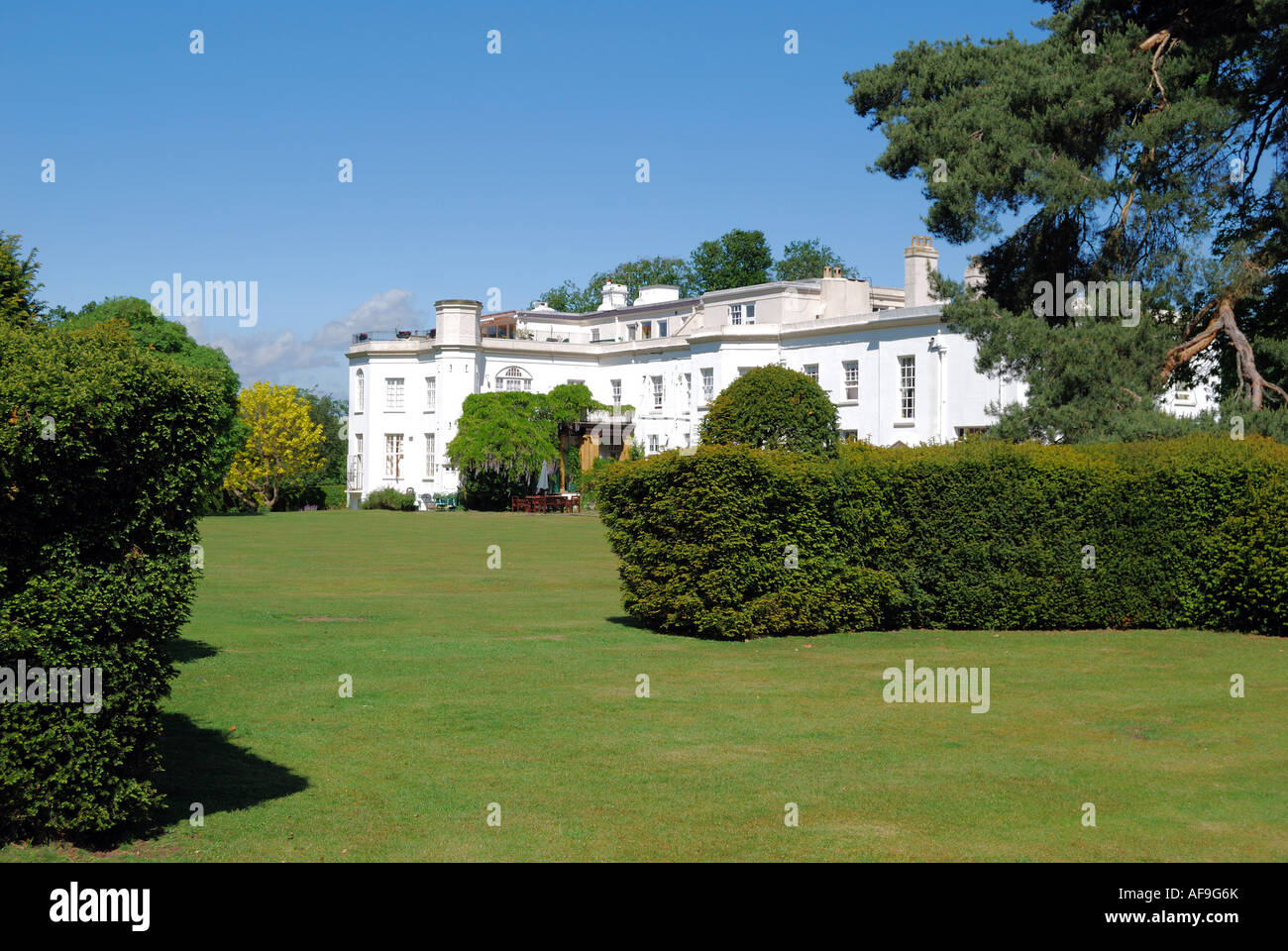 Period Queen Anne Manor House Virginia Water Surrey England United Kingdom