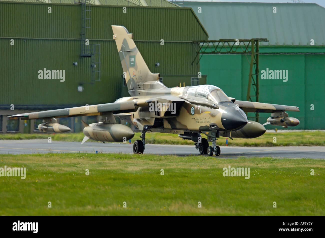 Panavia Tornado IDS Royal Saudi Air Force Stock Photo