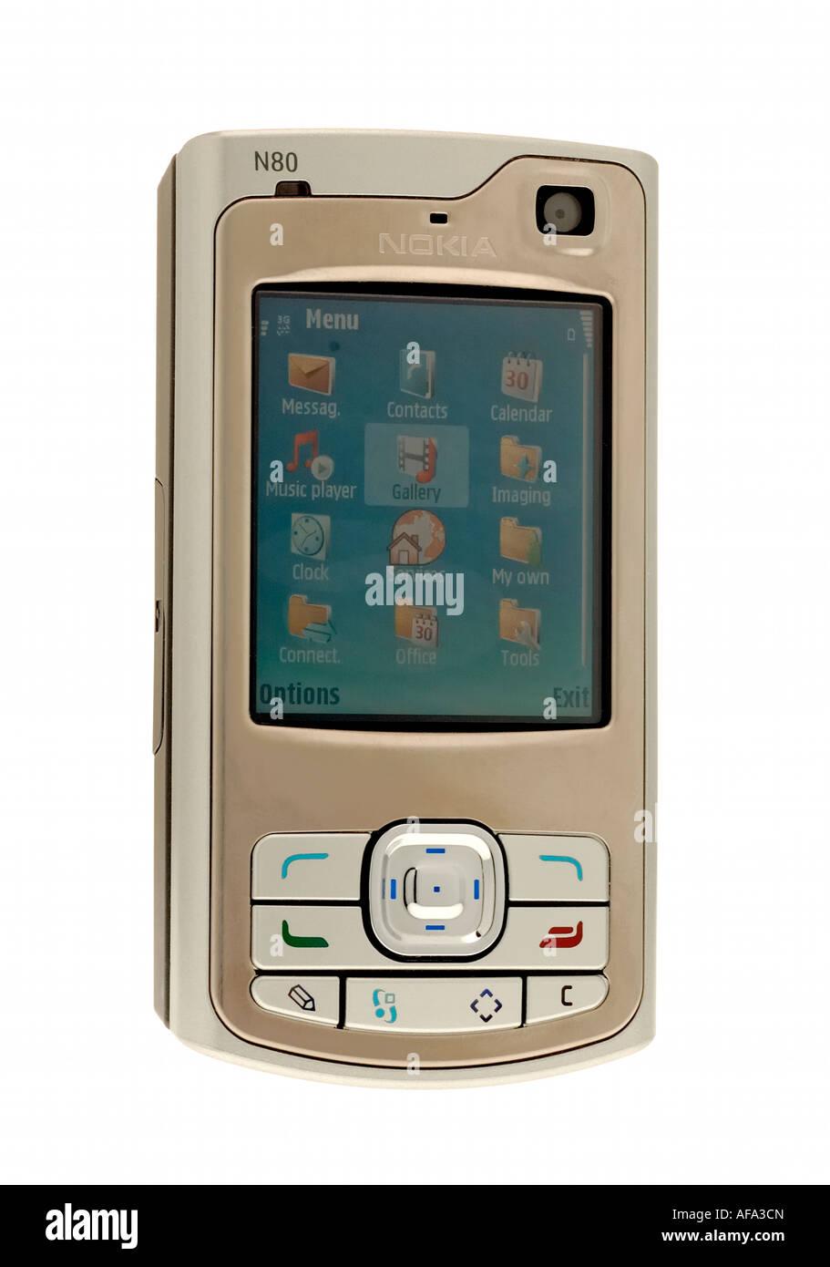 Nokia Mobile Phone Cut Out Stock Photos E71 Gsm Original Telephone Image