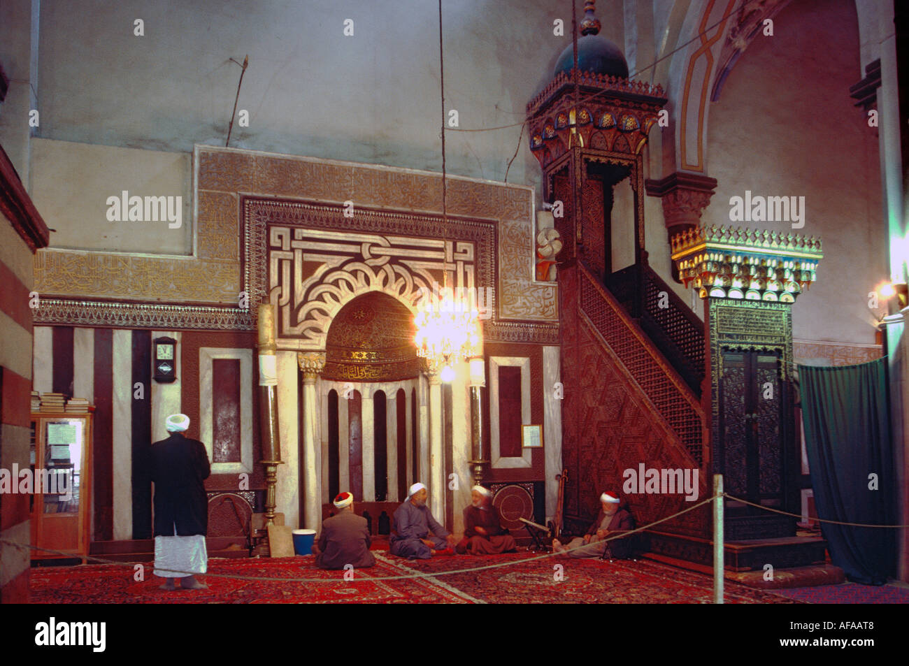 Maqam Ibrahim, Hebron, Palestine, Mamluk mosque - Stock Image