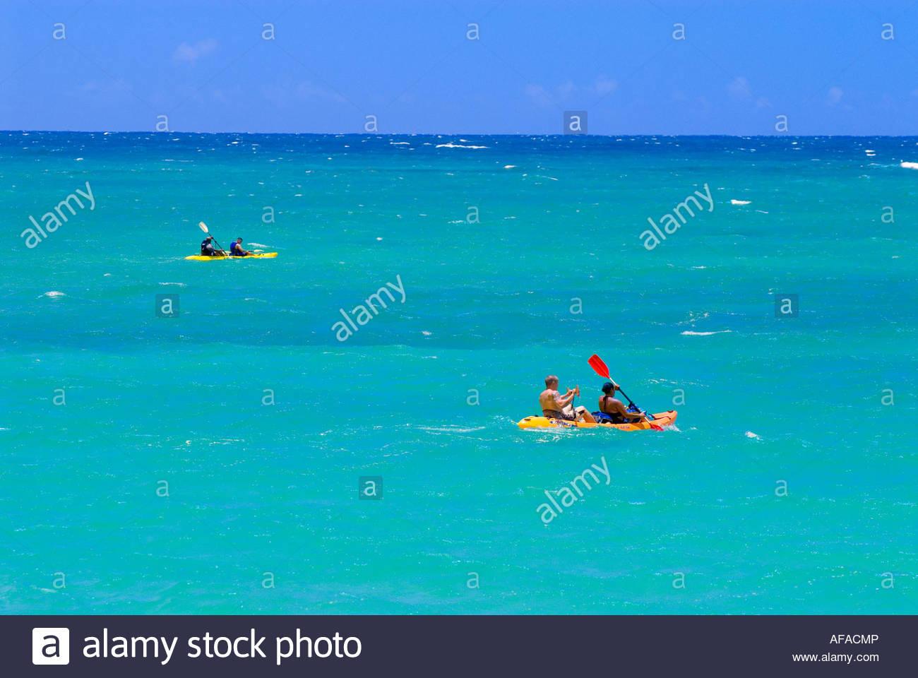 Sea Kayaking Kailua Beach Park Kailua Bay Kailua Oahu Hawaii