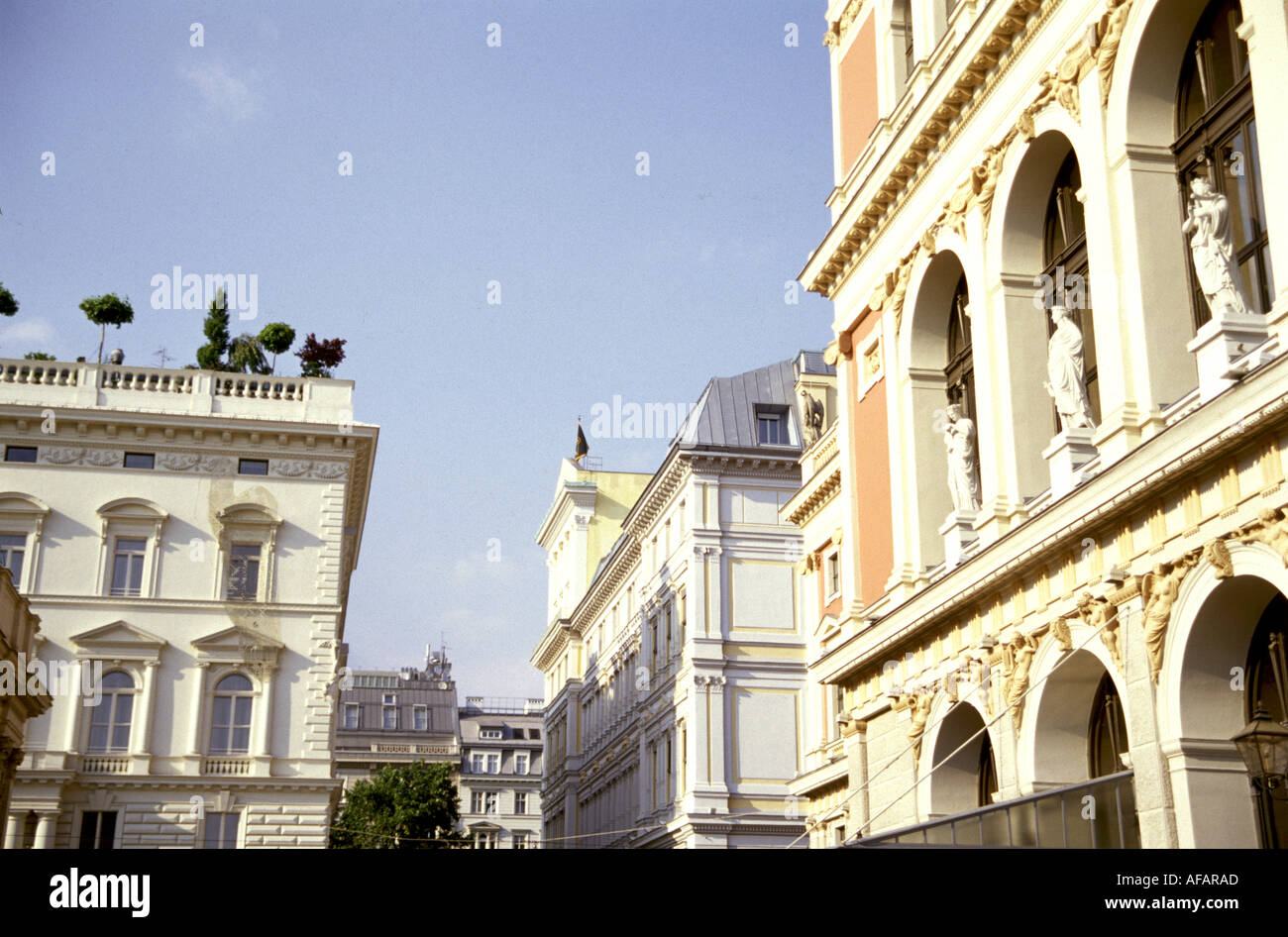 Travel photography from Vienna Wien Austria - Stock Image