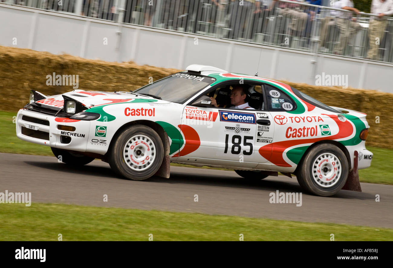 1993 Toyota Celica GT-Four ST185 rally car at Goodwood Festival of ...