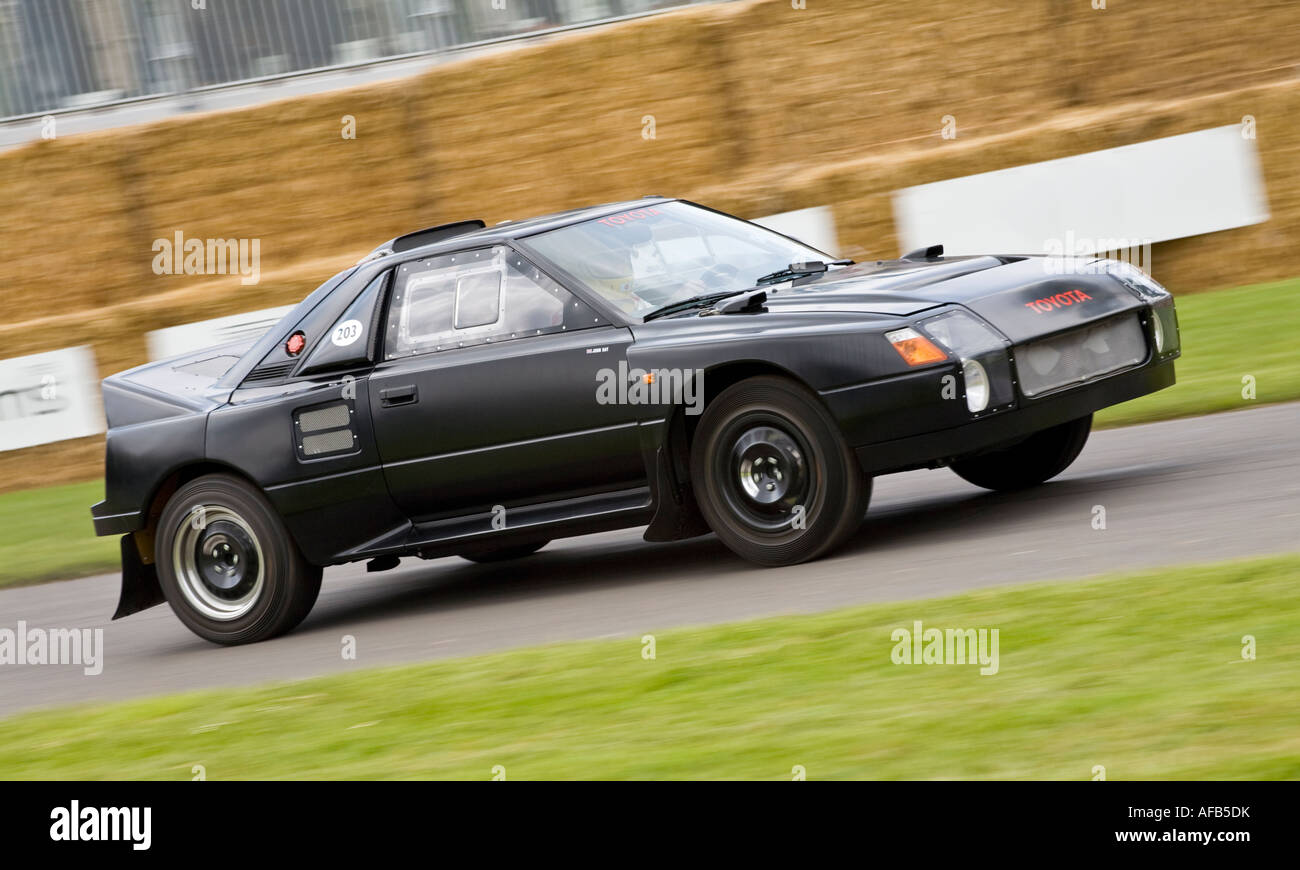 The very rare Toyota MR2 Group S rally car at Goodwood Festival of ...