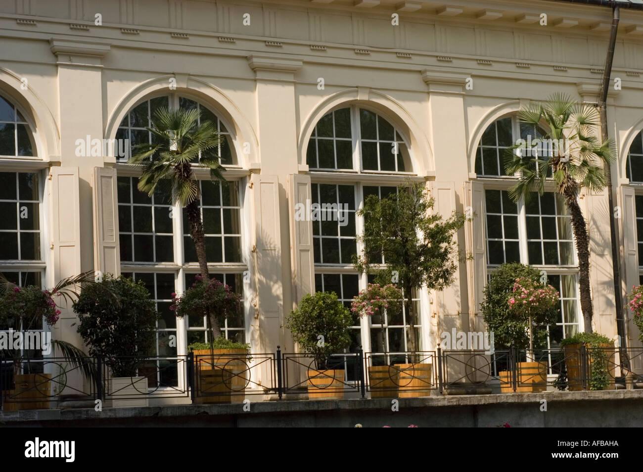 Old Orangery Or Stara Pomaranczarnia Facade In Royal