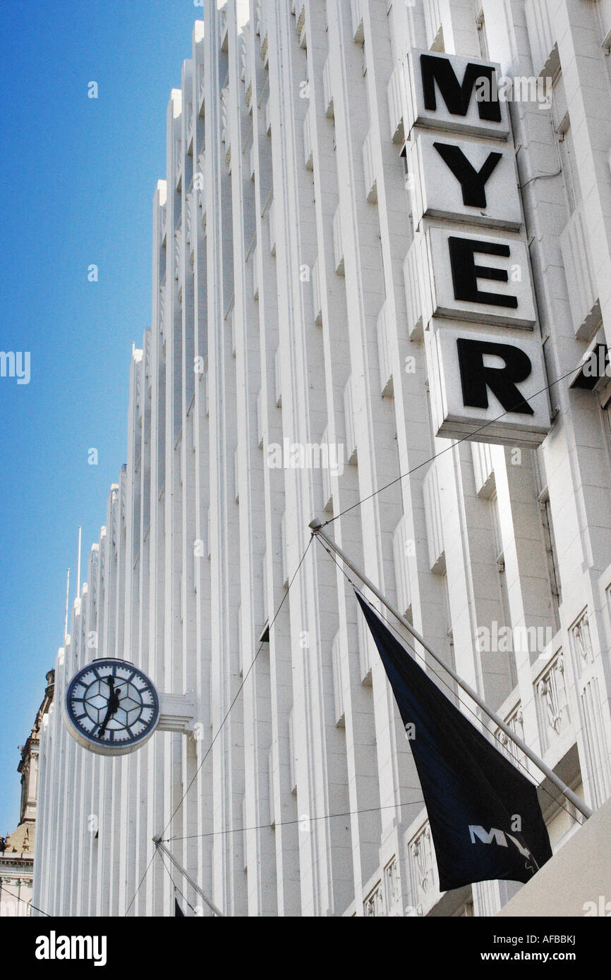 Myer Melbourne Stock Photos & Myer Melbourne Stock Images - Alamy