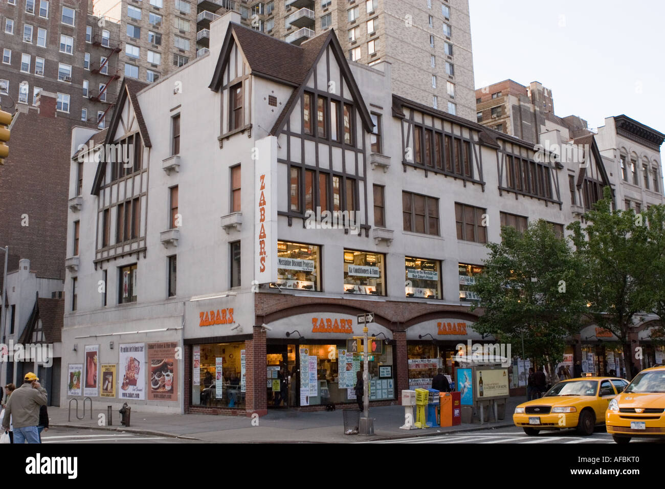 The popular Zabars food and appliance store Upper West Side New York City - Stock Image