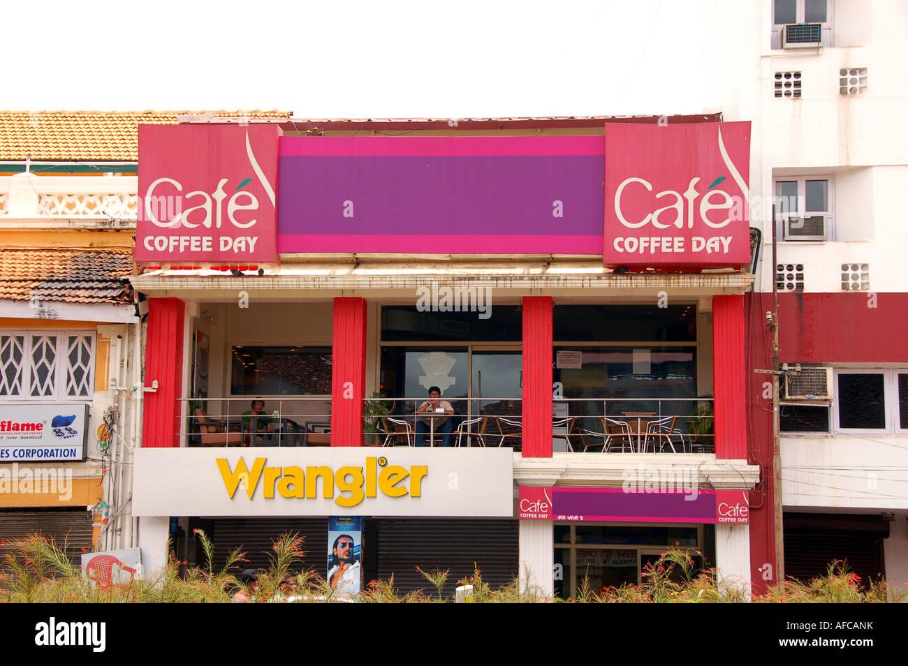 Cafe Coffee Day Shop In Panaji Goa India