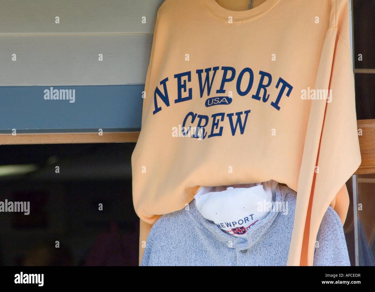 tourist souvenir store in newport rhode island - Stock Image