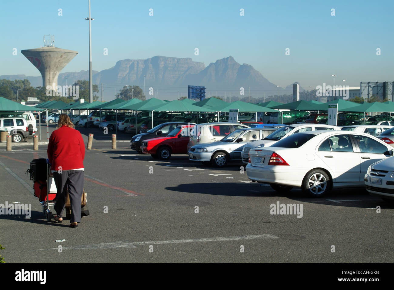 Cape Town International Airport Western Cape South Africa Rsa Stock
