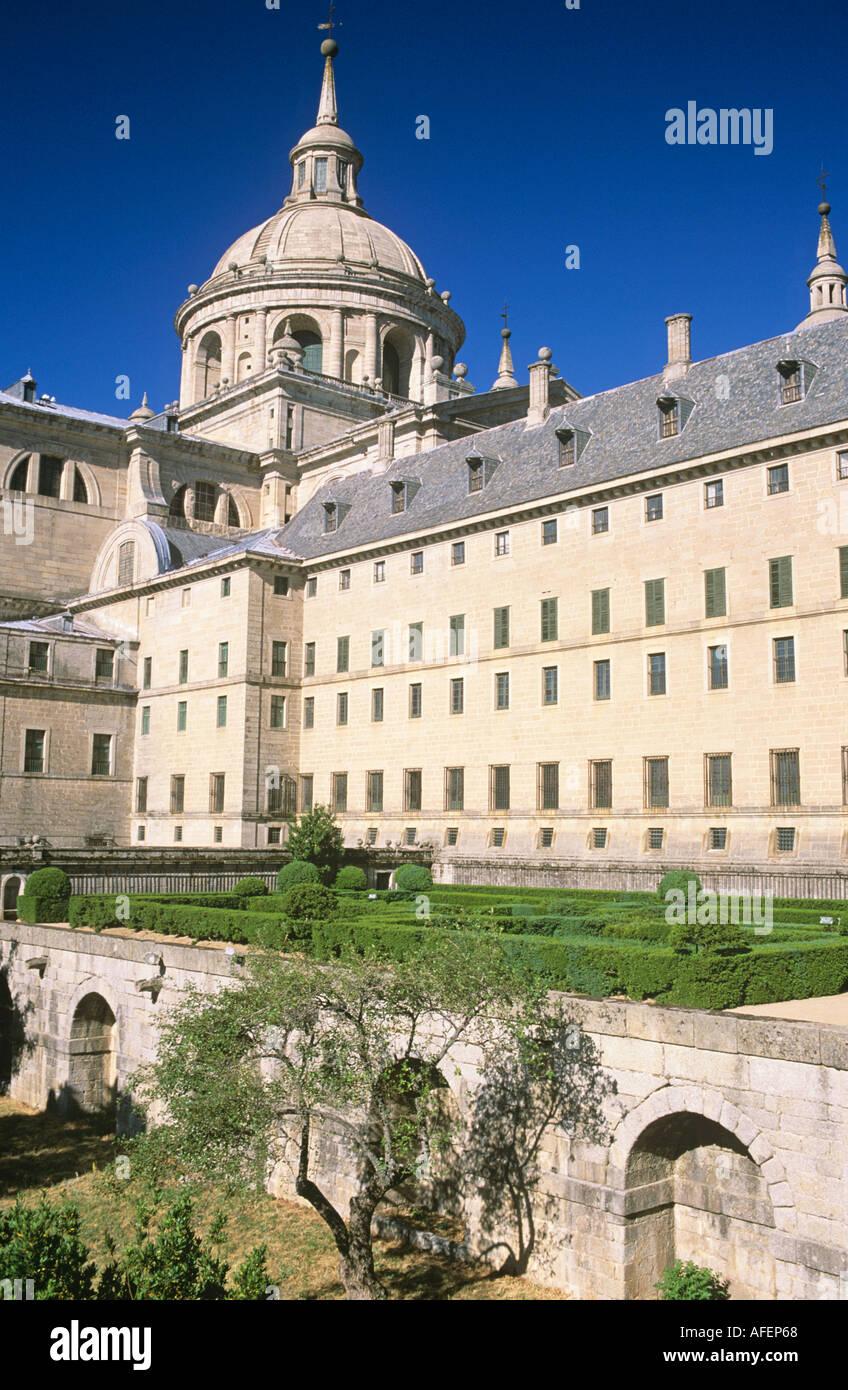 El Escorial Monastery Spain - Stock Image