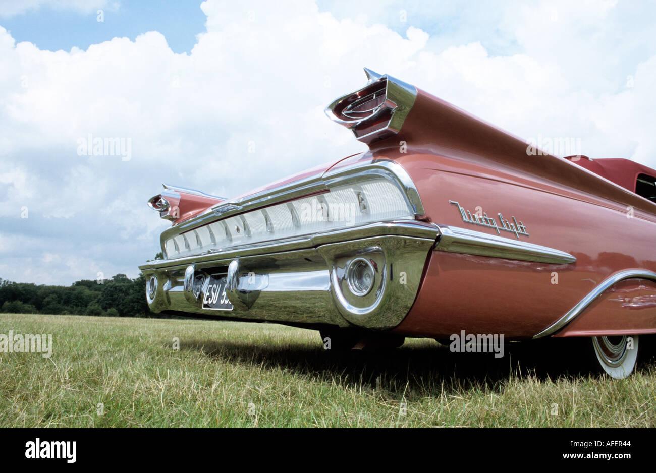 Oldsmobile Ninety Eight Convertible Coupe Of 1959 Stock Photo