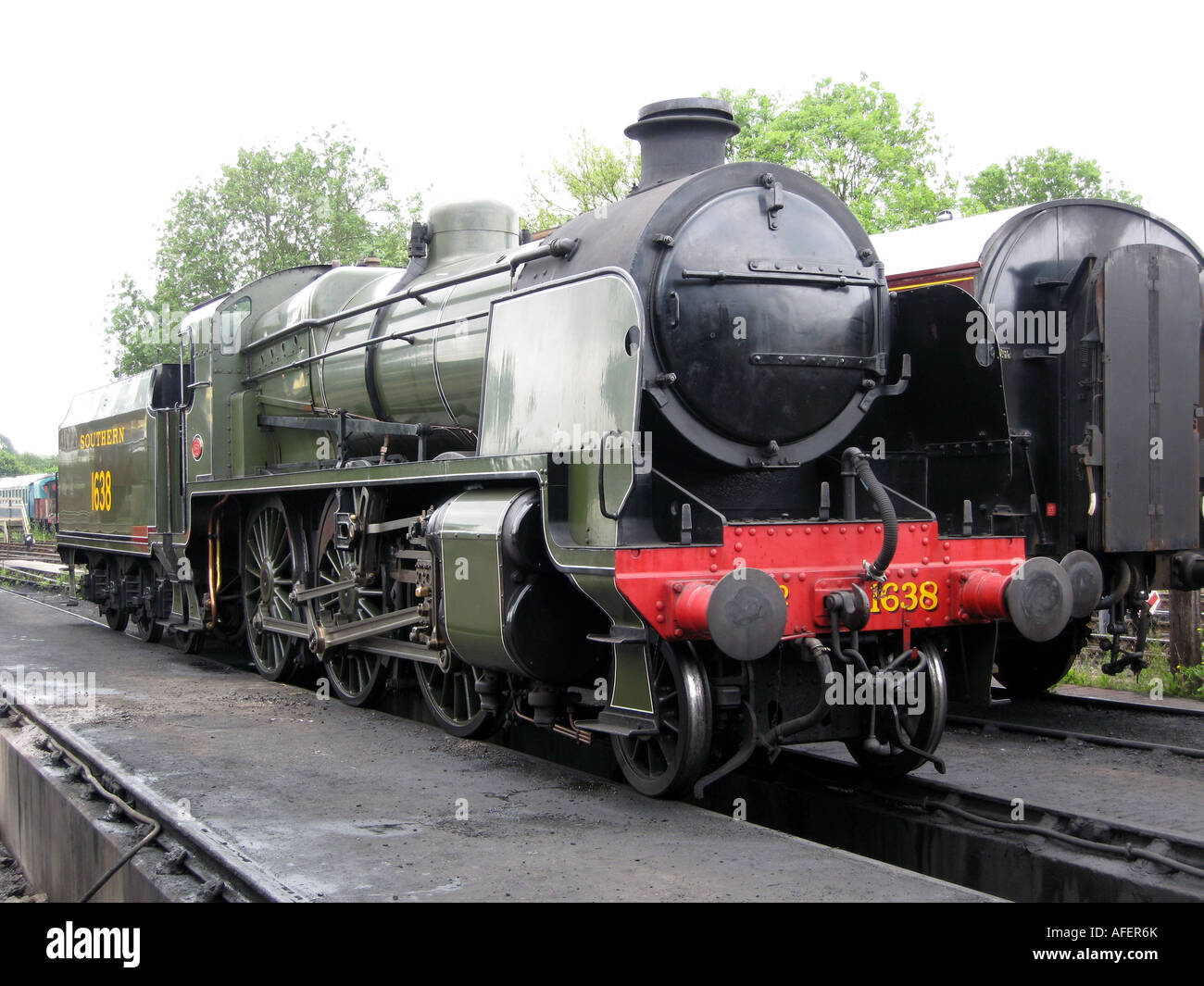 Southern Railway U-Class Steam Locomotive UK - Stock Image