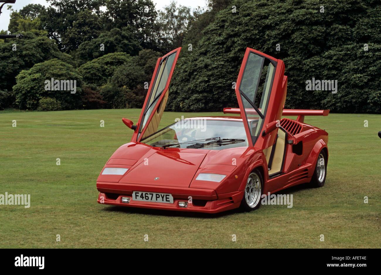 Lamborghini Countach Anniversary 1988 To 90 Stock Photo 4546637 Alamy