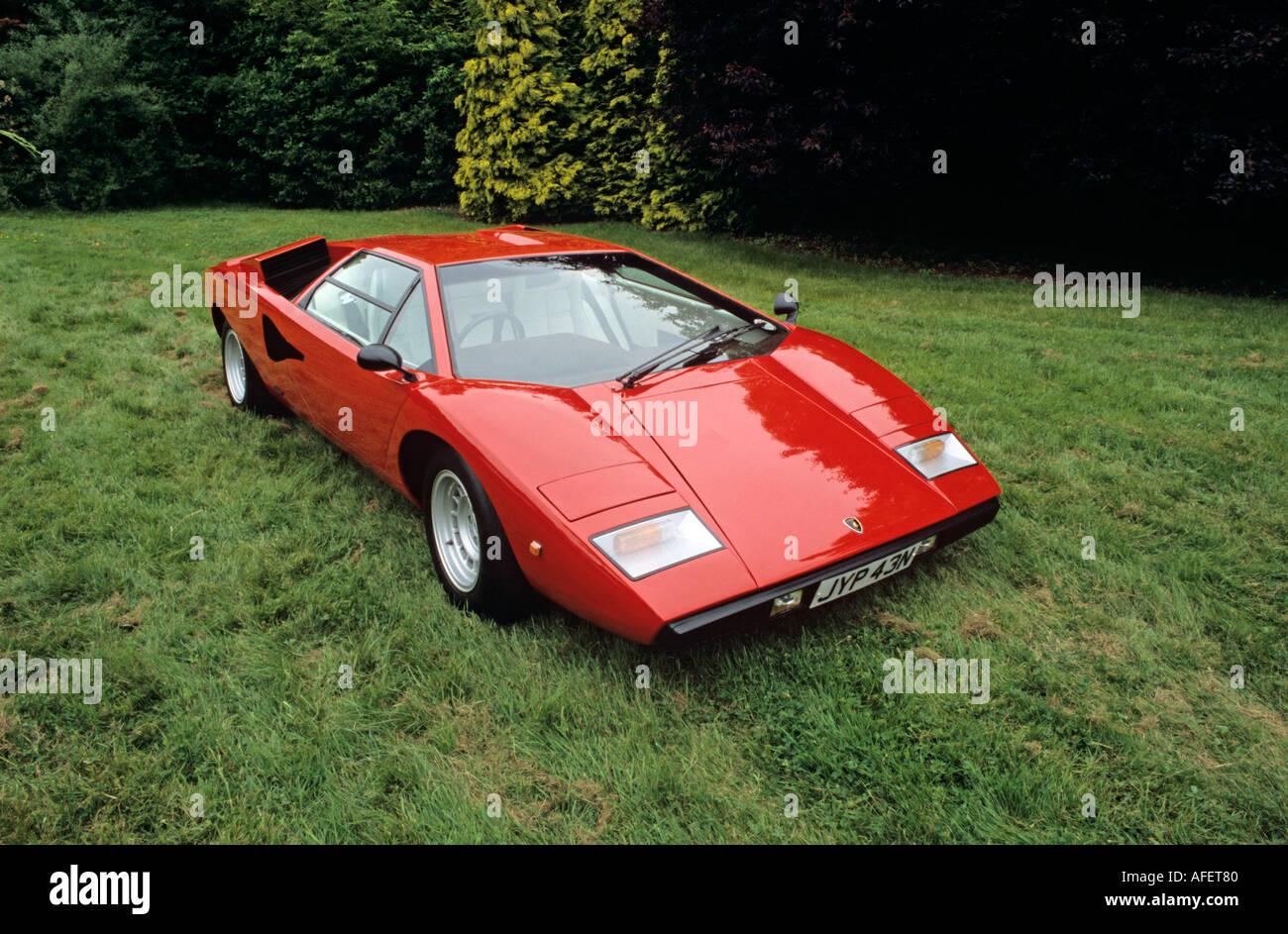 Lamborghini Countach LP400 1974 to 82 Stock Photo 4546687