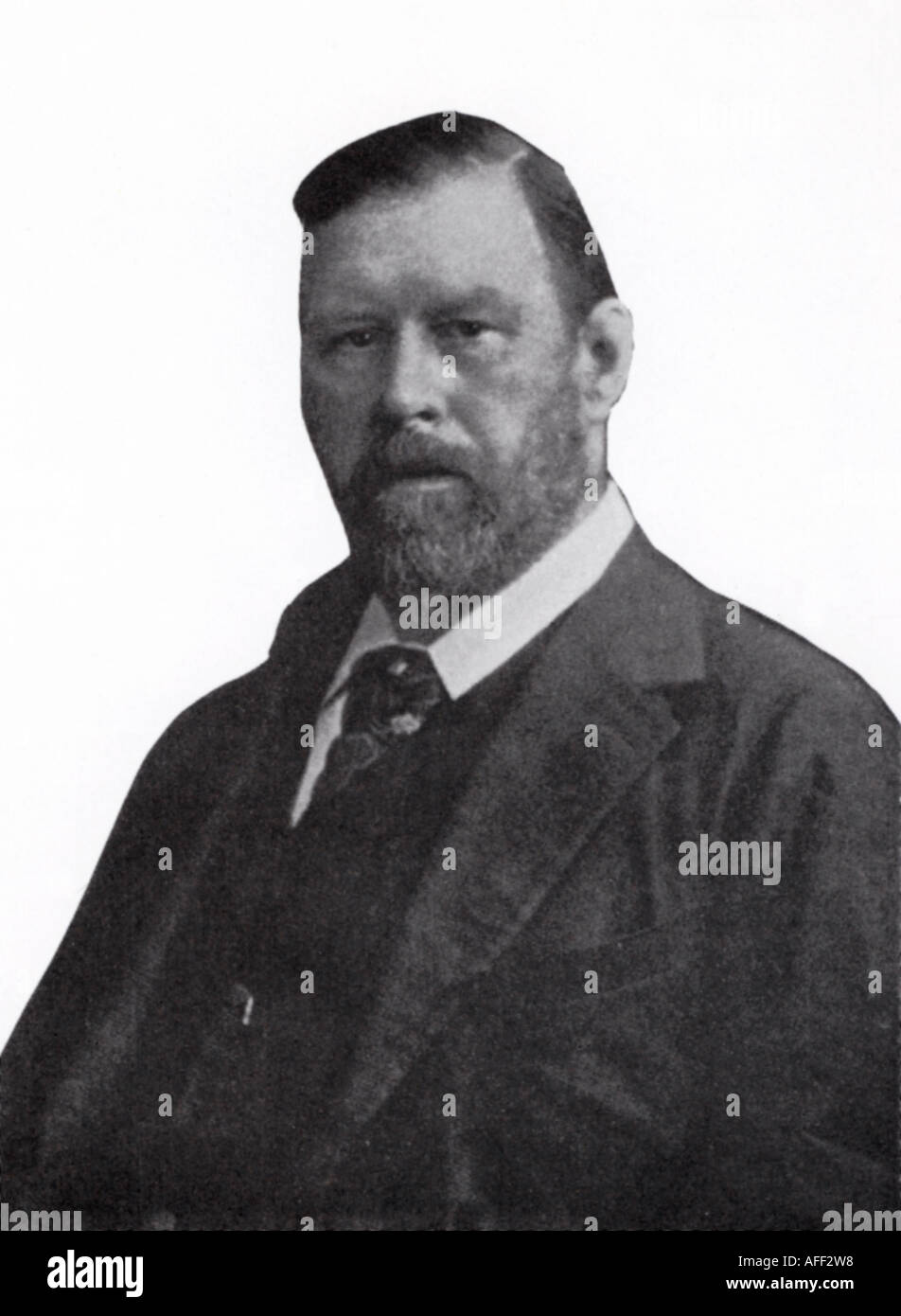 BRAM STOKER 1847 to 1912 Irish author of Dracula - Stock Image