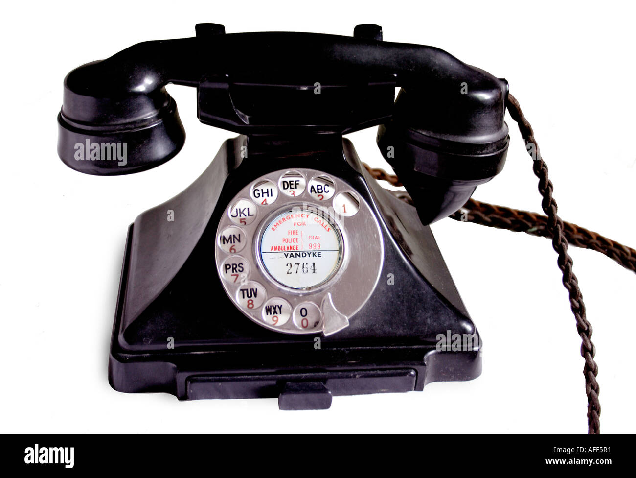 Old Phone - Stock Image