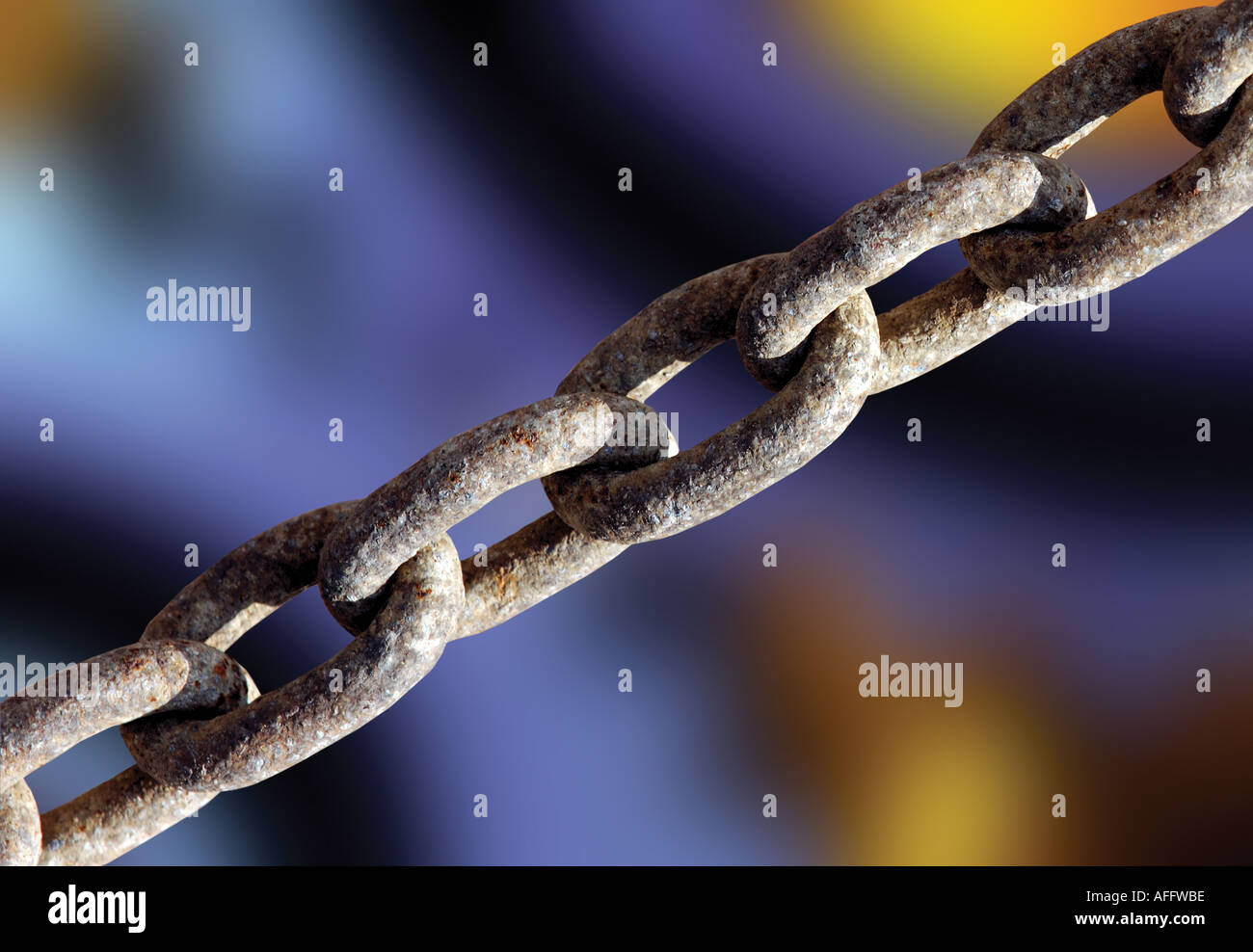 industrial chain - Stock Image