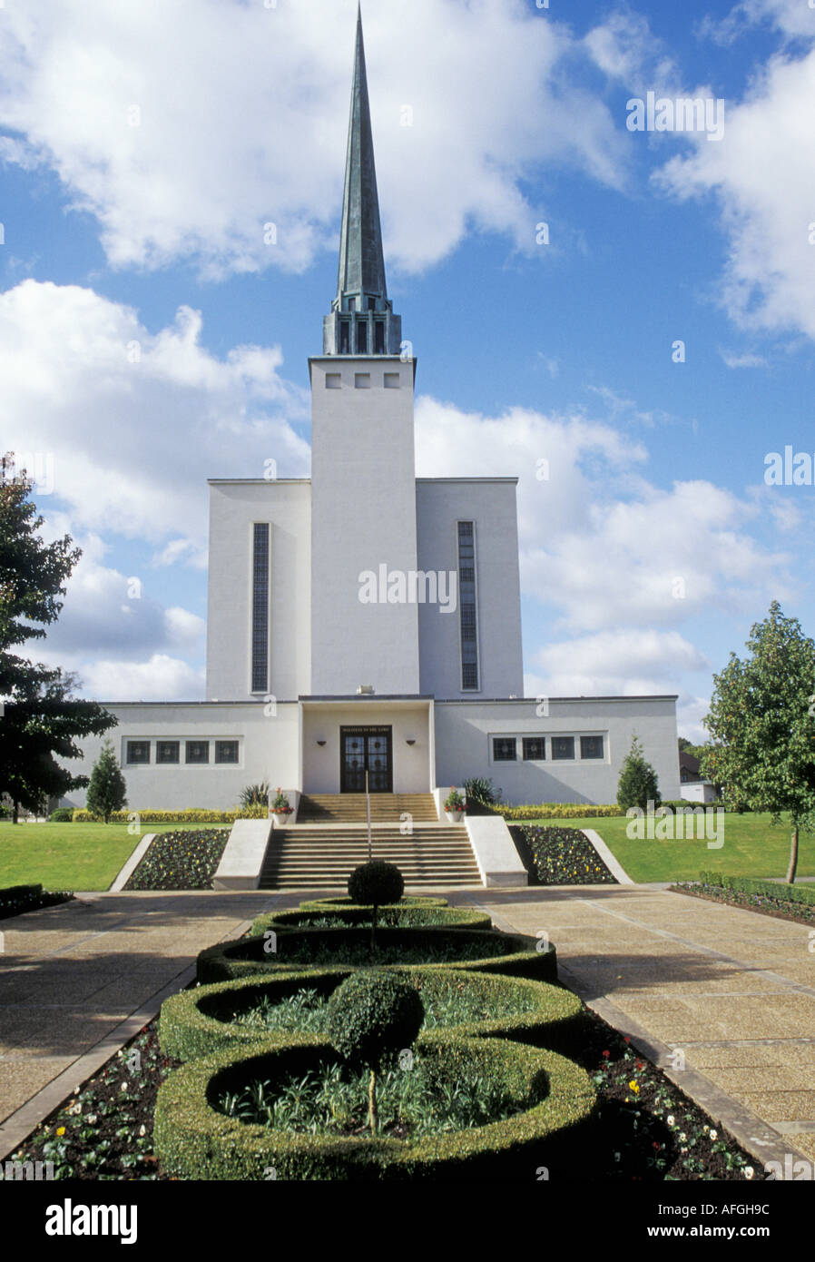 MORMON Church of the Latter Day Saints in Sussex England - Stock Image