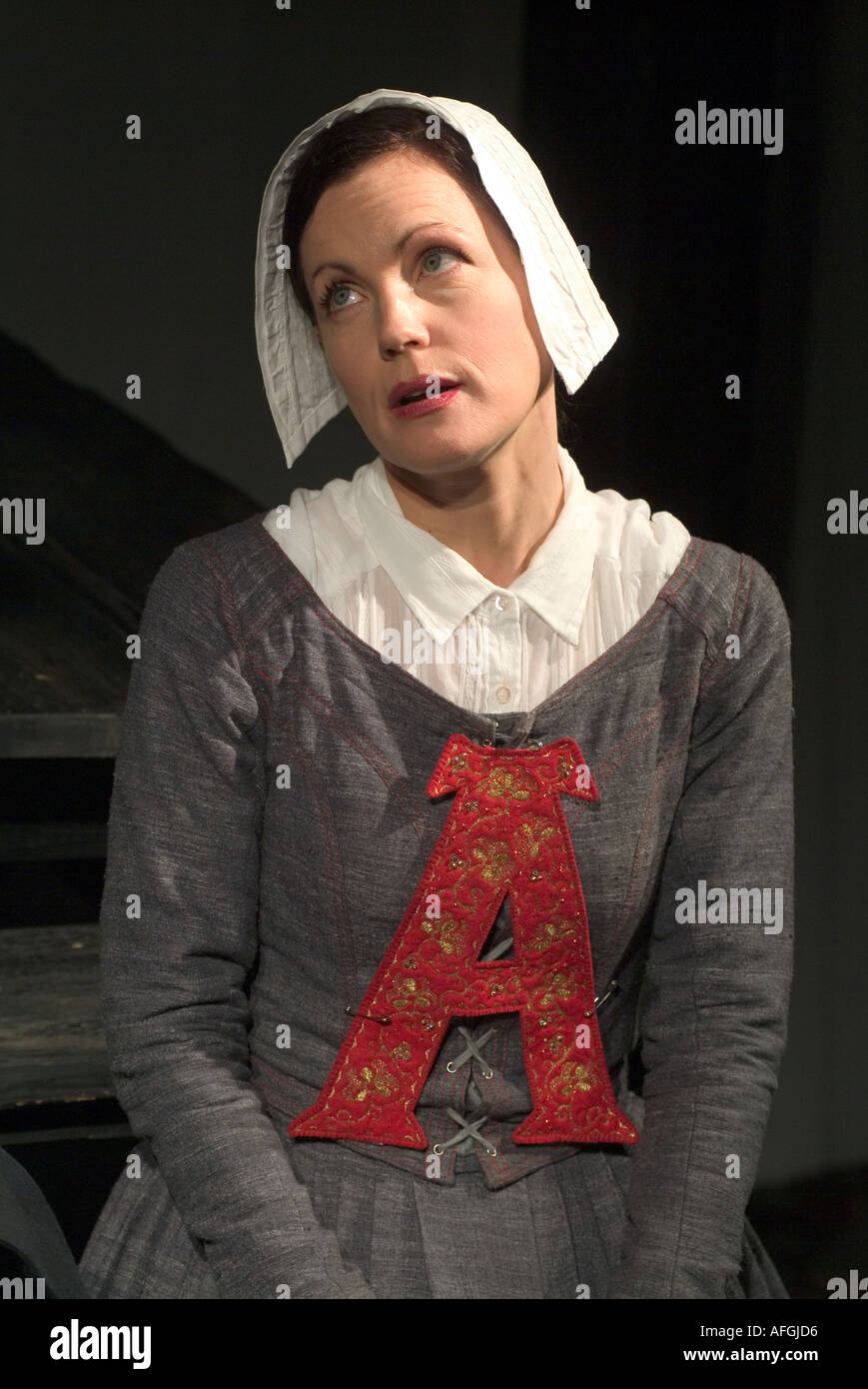 Elizabeth McGovern Playing Hester In The Scarlet Letter By Phyllis Nagy Chichester Festival Theatre