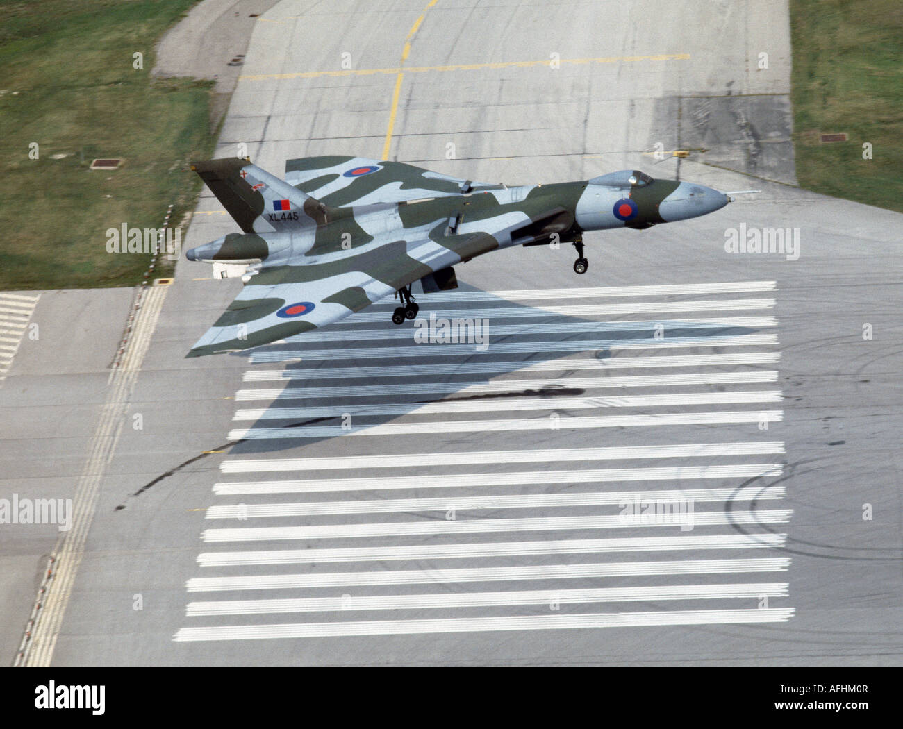 Avro Vulcan Bomber - Stock Image