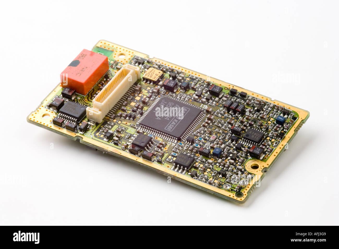 printed circuit board - Stock Image