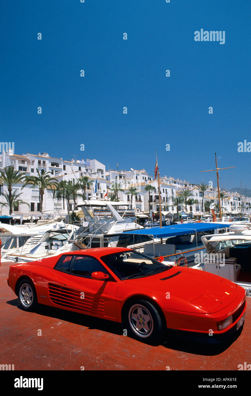 spain andalucia marbella puerto banus
