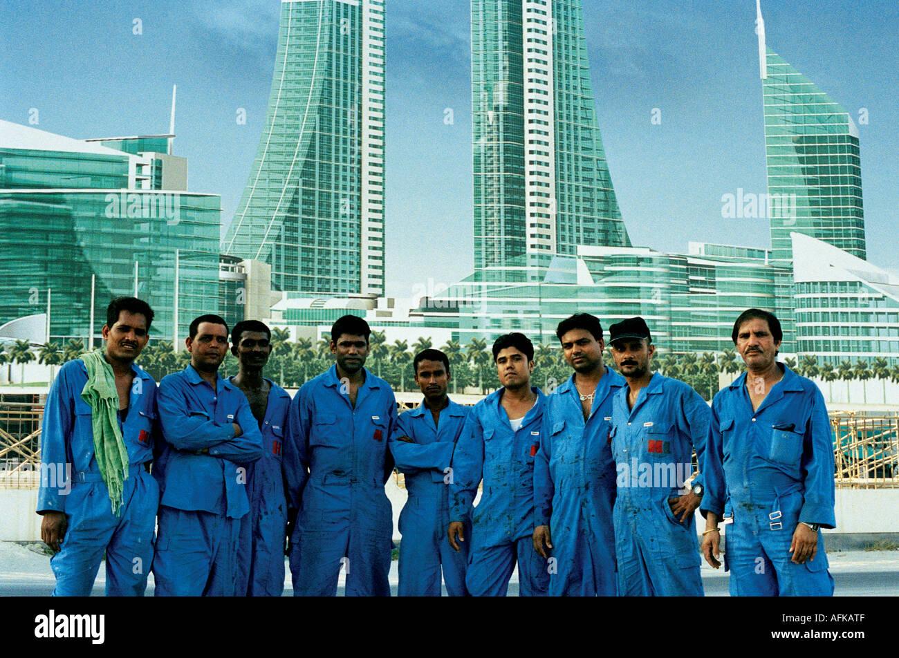 Bahrain Construction Workers Stock Photos & Bahrain