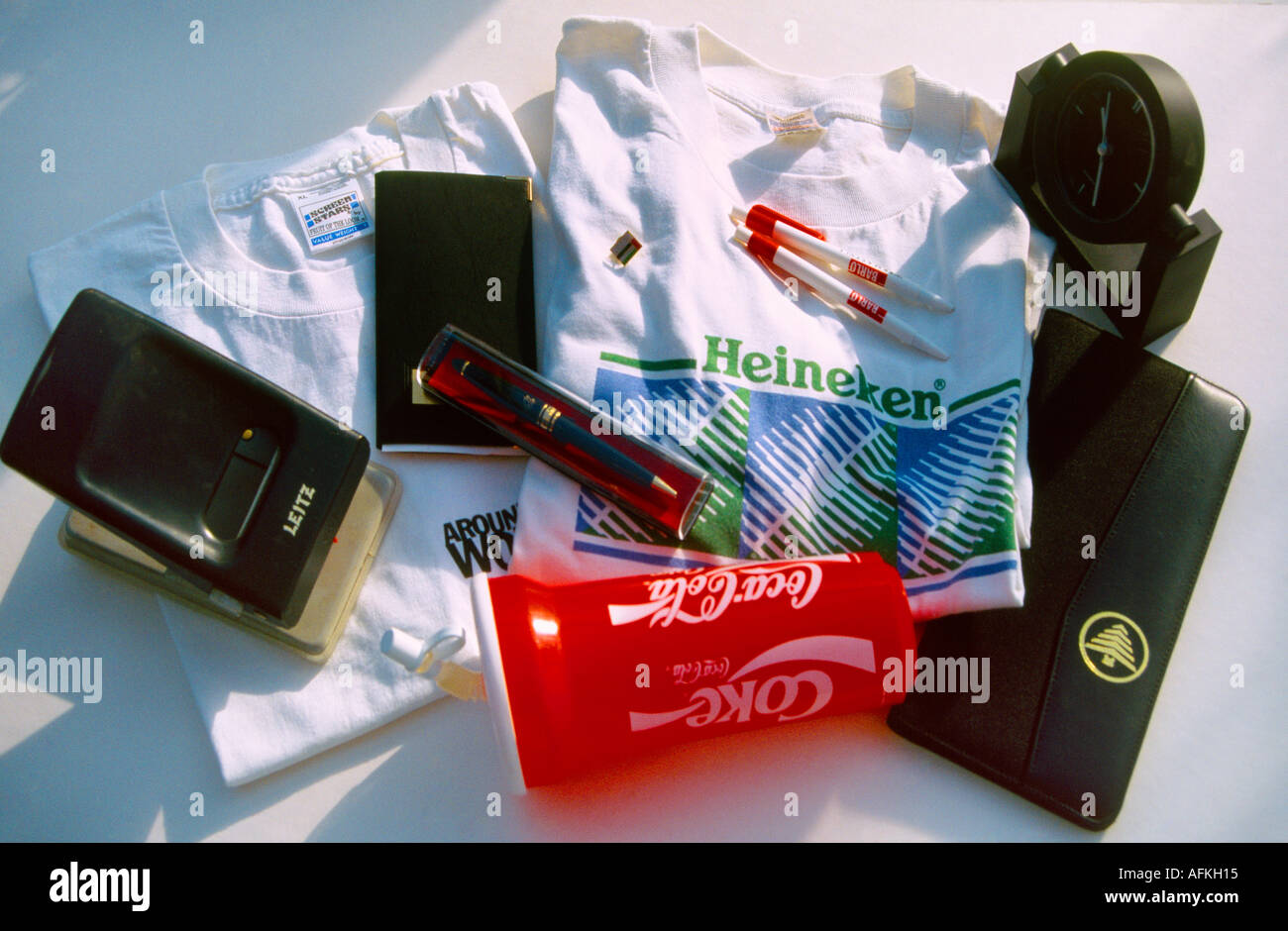 Promotional Goods Free Items - Stock Image
